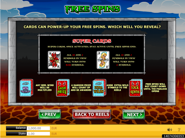 Free Spins Angel or Devil