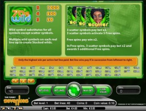 Funky Seventies Net entertainment slot free spins bonus