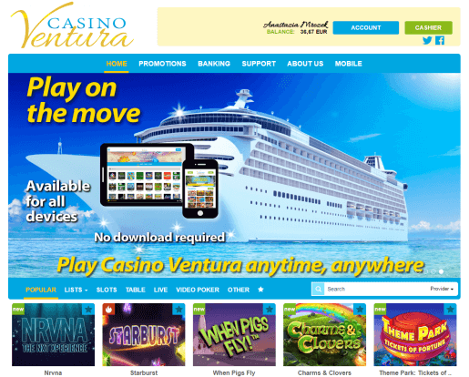 Casino Ventura online review