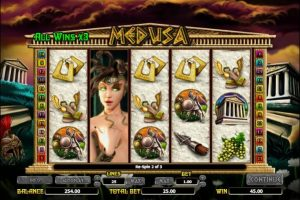 Medusa NextGen Gaming bonus game
