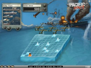 Pacific attack net entertainment slot bonus game