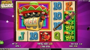 Spinata Grande netent bonus game free spins slot