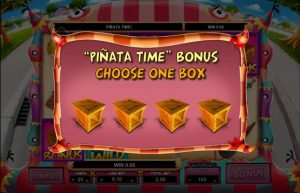 mad pinatas bonus game slot