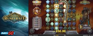 Viking Runecraft features play n go slot