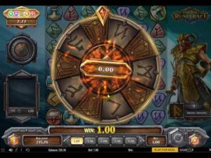 Viking Runecraft levels play n go slot
